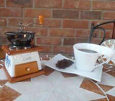 Black Top Ceramic Coffee Grinder Herbs Spice NEW FK16A