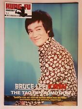 BRUCE LEE RAW THE TAO OF PROMOTION POSTER magazine No 2