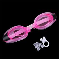 Adult Summer Diving Swimming Glasses Goggles Set Earplugs Nose Clip Hot HU