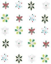 Christmas Snowflakes  Waterslide Nail Decals/Nail art