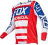 Fox Racing 180 Honda Jersey Red/White/Blue Men's Motocross/MX/ATV/BMX/MTB 2017