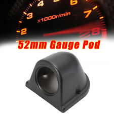 1pc Universal 2'' 52mm Gauge Pod Single Hole ABS Pillar Dashboard Mount Holder X