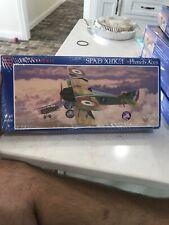 Glencoe Spad XIII French Aces BiPlane - Plastic Model Airplane Kit - 1/48 Scale