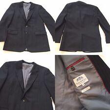 Taylor & Wright Fine Tailoring Mens Blazer Double Vent Suit 44L 2 Front Button