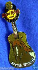 LAS VEGAS NEVADA WILDLIFE WILD HORSE MUSTANG GUITAR 2007 Hard Rock Cafe PIN
