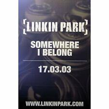 LINKIN PARK RIESENPOSTER GIANT POSTER SOMEWHERE I BELONG - ca. 150x100cm