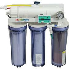 SPECTRAPURE RO/DI CSPDI90 UNIT 90 GALLONS PER DAY W/MANUAL BACKFLUSH, DUAL TDS M