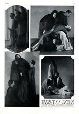 Mary Wigman DANZA SCUOLA Dresda XL pag. 1926 New German Dance espressione ballo ballare