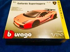 Lamborghini Gallardo Superleggera Burago 1:24 Metal Kit Maqueta Coche