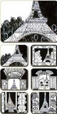 Paris Placemats x 6 & Coasters x 6 New great gift idea