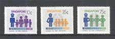 SINGAPORE 1983 NEIGHBOURHOOD WATCH COMP. SET OF 3 STAMPS SC#420-422 IN MINT MNH