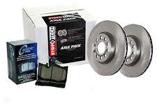Rear Brake Rotors + Pads for 2005-2005 Audi A4 QUATTRO V6 3.2 [Fr 01/05]