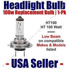 Headlight Bulb Low Beam 100 Watt Upgrade 1pk - Fits Listed Makes & Models H7 100
