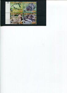 2005 WWF IVORY COAST Speckle-throated Otter  4V  set MNH POST-FREE