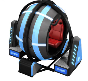 Virtual Reality Space-Time Shuttle VR Motion 9D Shooter Arcade Ride SEE VIDEO