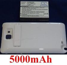 Coque Blanche + Batterie 5000mAh type EB615268VU Pour SAMSUNG Galaxy Note