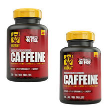 PVL MUTANT CORE CAFFEINE 2 x 240 TABS FOCUS PERFORMANCE ENERGY