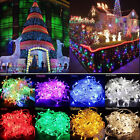 100M 600 LED Christmas Wedding Xmas Party Decor Outdoor Fairy String Light Lamps