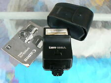 CANON SPEEDLITE 188A FLASH WITH MANUAL & CASE CANON A-1 AE-1 AE-1P *MINT