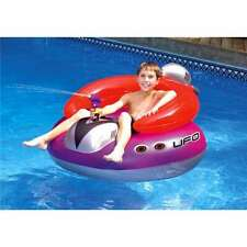 Swimline Swimming Pool UFO Squirter Toy Inflatable Lounge Chair Float (Open Box)