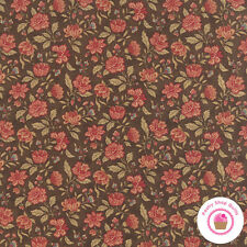 Moda MILLE COLLEURS Walnut Floral 44085 12 3 Sisters QUILT FABRIC YARDAGE