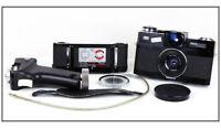 EX Zeiss Ikon Ultrawide Camera w/Hologon 15mm f/8 Lens+ Centre Filter + Grip
