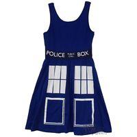 Doctor Who Tardis Police Box Costume Tunic Dress