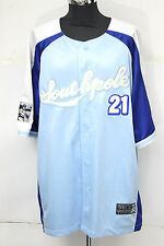 GIACCA SOUTHPOLE NYC BASEBALL JERSEY athletic collection jacket TAGLIA XL  631