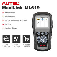 Autel ML619 Auto Scan OBD2 Diagnostic Scanner Code Reader Reset SRS ABS AS CR619
