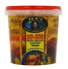 800g Tex's Hot & Spicy Fried Chicken Coating Southern Kentucky