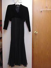 CSC Evening size 10 Long Dress sleeveless with long sleeve Bolero
