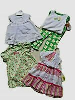 NWT! Lot 4 Precious Baby Girl Outfits; 6-9 mos; Carters;Starting Out; So Cute!