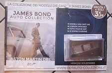 JAMES BOND AUTO COLLECTION 007 ASTON MARTIN DB5 MISSIONE GOLDFINGER LEGGI !!