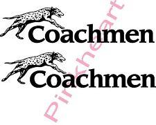 2- Coachmen Decals colors RV sticker  graphics trailer camper rv coachman USA
