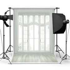 5x7FT Fotohintergrund Hintergrund Fenster Kulisse Hochzeit Party Studio Backdrop