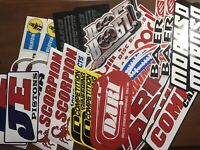 32 Racing Decals Lot Contingency size Stickers Dart Moroso ARP JE Pistons LARGE