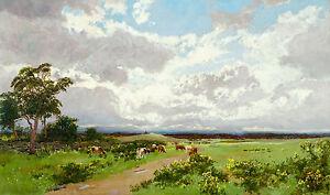 W.C. Piguenit - Near Liverpool, NSW, Australian Art, Museum Poster, Canvas Print