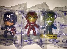 2019 McDonald's AVENGERS Happy Meal Toy - Iron Man, Captain America, Thor, Hulk