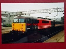 PHOTO  CLASS 87 ELECTRIC LOCO NO 87012 AT STAFFORD 30/5/98
