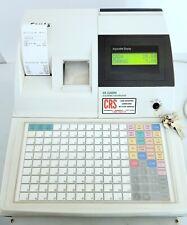 Sam4s Re 5200m Cash Register Thermal Printer W 2 Sets Keys And Paper Working
