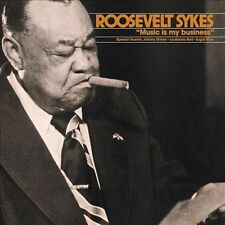 Music Is My Business; Roosevelt Sykes 1996 CD, Blues Piano, Fat Possum Very Good