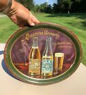 American Brewery Beer Tray Fred. Bauernschmidt Baltimore MD Exceedingly Rare WOW