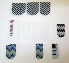 Jamberry Nails Zig Zag Partials 10 Single Pieces Read Description
