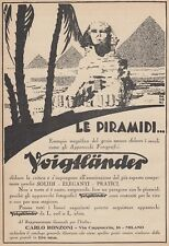 Z5086 Apparecchio fotografico VOIGTLANDER - Pubblicità d'epoca - 1930 vintage ad