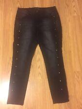 Catherine Malandrino Black Jeans Girls Size 10