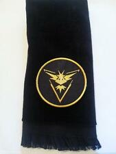 Team Instinct fingertip towel Pokemon game go black yellow FREE SHIPPING