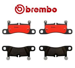 For Porsche 911 Cayenne VW Touareg 11-15 Rear Ceramic Disc Brake Pads Brembo