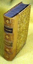 ANTIK-rousseau-Emile ou de l'Education-FRANCAIS-paris 1898 Cuir Cuir