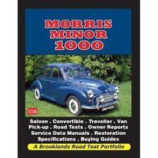 Morris Minor 1000 Road Test Portfolio book paper car