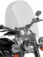 """Sportech Cruise Series Clear Tall (22"""") Windshield for 1 1/4 in. Bars"""